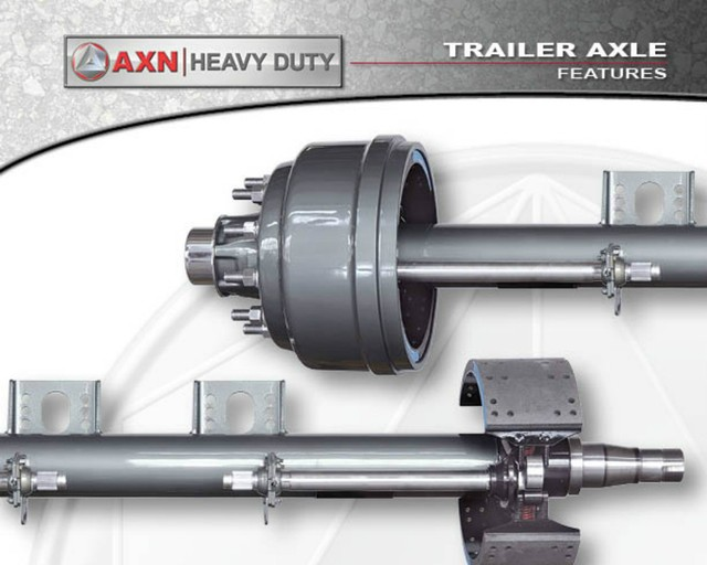 Heavy Duty Axle Differential : Axn heavy duty products trailer axles
